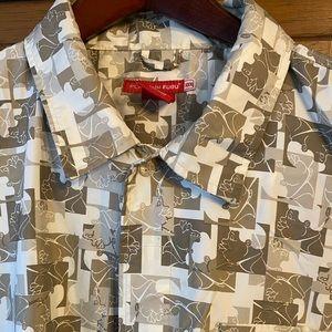 Platinum FUBU Fat Albert button down shirt